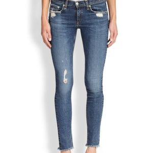 Rag and Bone La Paz Skinny Distressed Jeans